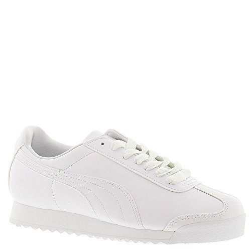 PUMA Women's Roma Basic Sneaker,White/Light Gray,11 B US
