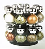 Highlands 4pc Glass and Metal Storage Jars in Assorted Sizes