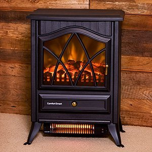 Comfort Smart 600 Sq Ft Infrared Fireplace Stove - CS-18IR