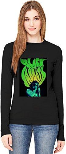 Black Sabbath T-Shirt da Donna a Maniche Lunghe Long-Sleeve T-shirt For Women| 100% Premium Cotton Ultimate Comfort Large