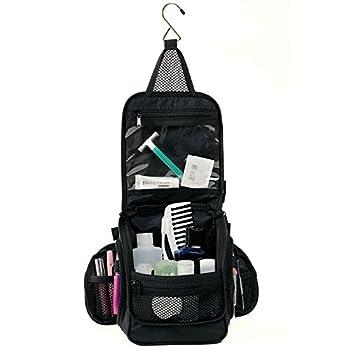 Compact Hanging Toiletry Bag, Personal Organizer for Men & Women | Rugged & Water Resistan 2