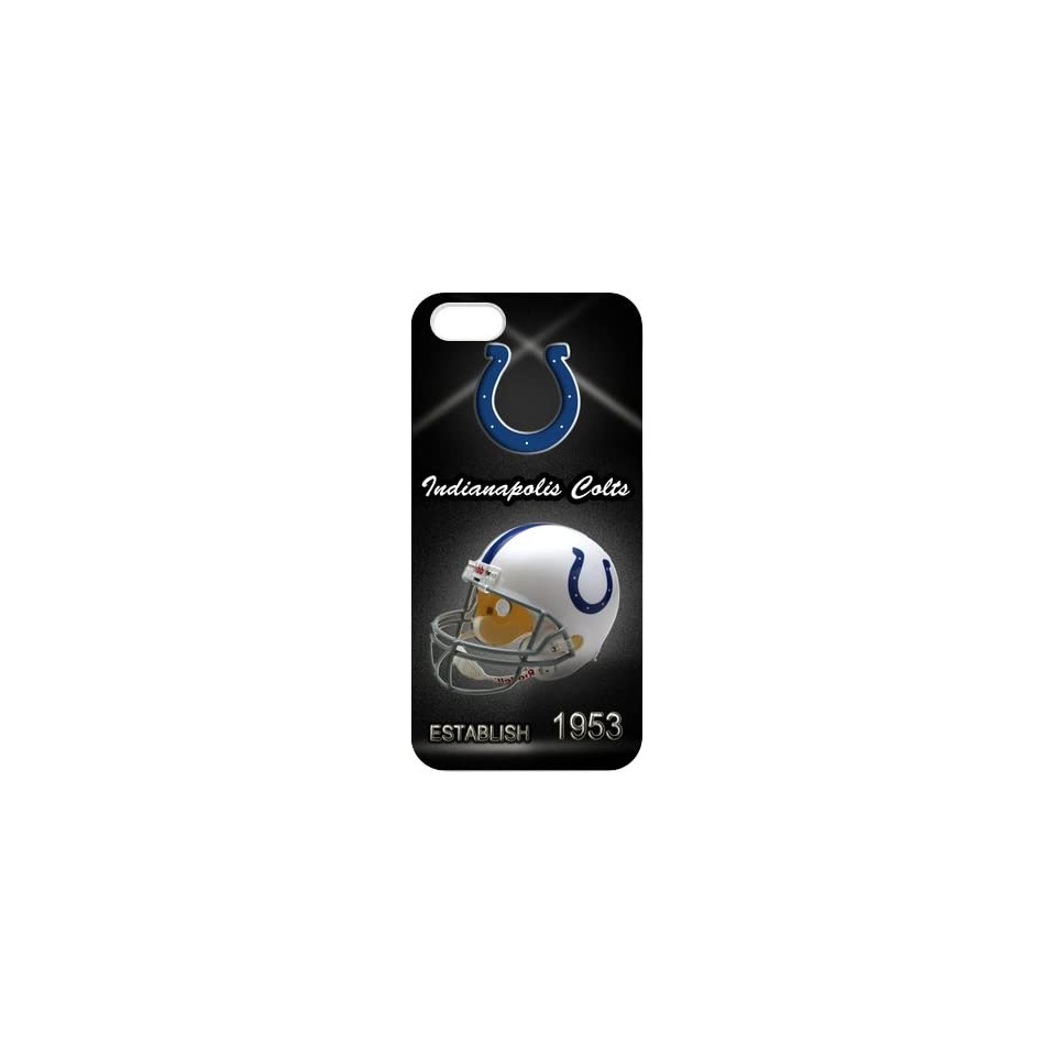 Nfl Indianapolis Colts Iphone 5 Slim fit Case, Best Iphone Case Show 1l274 Cell Phones & Accessories