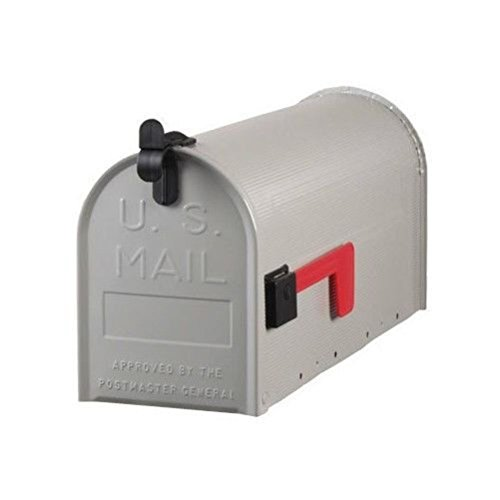 ST100000 Standard Galvanized Steel Gray Rural Curbside Mailbox (Solar Powered Portable Cooler compare prices)