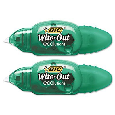 bic-woetp21-wite-out-ecolutions-mini-correction-tape-white-1-5-x-235-2-pack-bicwoetp21-by-bic-americ