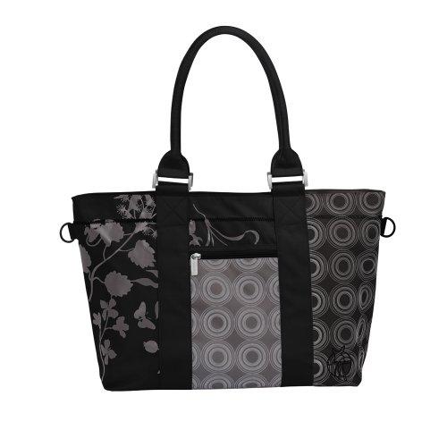 Lässig - LCS10131 - Sac à Langer - City Shopper Colorpatch - Noir