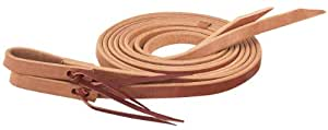 Weaver Leather Single-Ply Heavy Harness Split Rein, Russet, 1/2-Inch x 8-Feet
