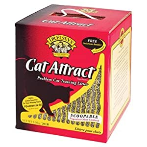 Precious Cat Cat Attract Problem Cat Training Litter, 20 pound bag
