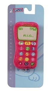 Gipsy - Teléfono sonoro, 15 cm, color rosa (070160) de Gipsy en BebeHogar.com