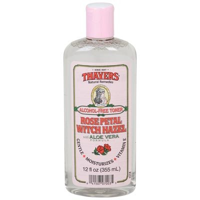 Witch Hazel Rose Petal Alcohol Free