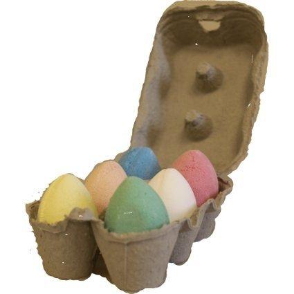 Box of 6 Bath Bomb Eggs - Mix (6x 50gm) - Crane's Bathtime