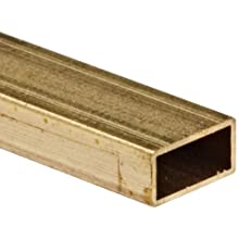 Brass C260 Rectangular Tubing