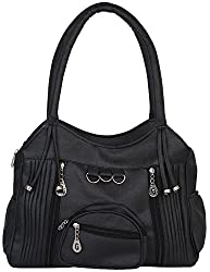 Gracetop Women's Shoulder Bag (Black)
