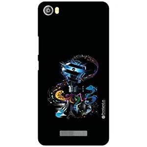 Lava Iris X8 Back Cover - Silicon Funky Designer Cases