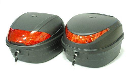 選べる2種 リアボックス 28L 汎用 【ADVANTAGE】 トップケース スクーター 原付 バイク (Bタイプ(28L))