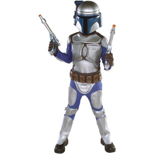 Star Wars Jango Fett Deluxe Child Costume(Medium-As Shown)
