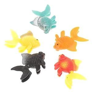 5pcs ornement en plastique artificielle des poissons d for Nitrite aquarium poisson rouge