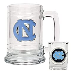 North Carolina Tar Heels - UNC Boilermaker Set NCAA College Athletics