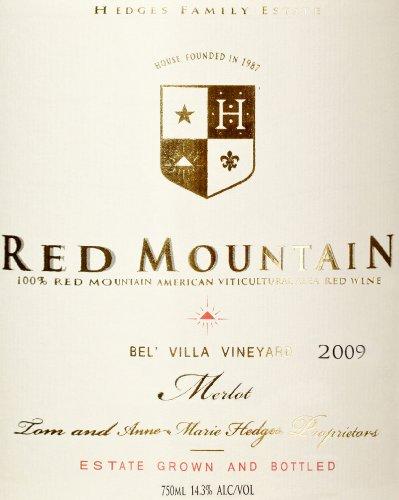 2009 Hedges Family Estate Single Vineyard Limited Merlot 750 Ml