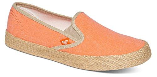 RoxyRoxy Damen Redondo Jute Slip On Shoes - Scarpe da Ginnastica Basse Donna , Arancione (Orange (Tangerine Tng)), 39