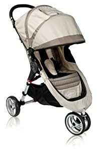 Baby Jogger 2011 City Mini Single Stroller, Stone/Black (Discontinued by Manufacturer)