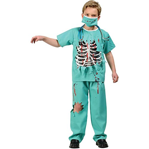 Child's Scary ER Doctor Costume (Size: Small 4-6)