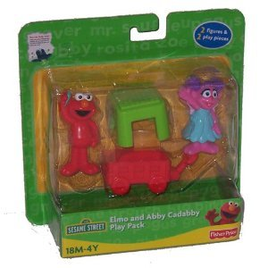 Buy Low Price Fisher Price Sesame Street: Elmo & Abby Cadabby Play Pack Figure (B003YSZBUE)
