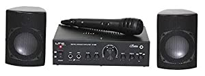 Set pro dj amplificatore casse microfono hi-fi karaoke