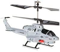 U809 Cobra Missile Launching 3.5 channel RC Helicopter Gyroscope RTF w/ Missiles from U809 Cobra