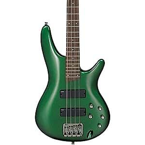 Amazon.com: Ibanez SR300 Electric Bass Guitar (Metallic Forest
