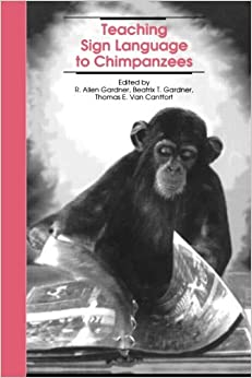 a review of research on teaching sign language to chimpanzees Surprising new research shows that chimpanzees and bonobos share common gestures and meanings that's fascinating in itself, but it raises intriguing questions as to how sign language is inherited, and whether humans share any gestures and meanings with other apes.