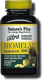 Nature\'s Plus Ultra Bromelain -- 1500 mg - 60 Tablets