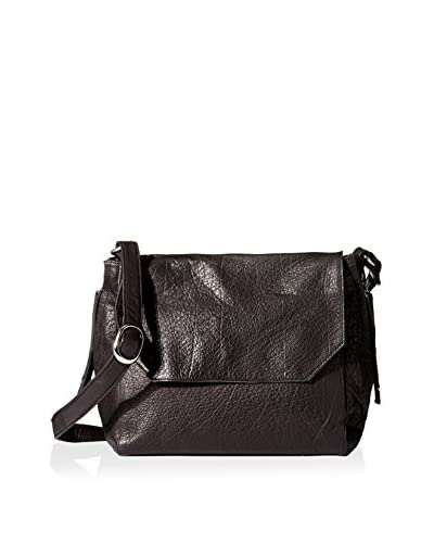 DAY & MOOD Women's Clive Satchel, Black As You See