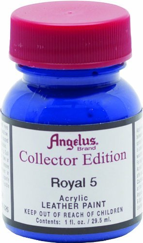 Angelus Collectors Edition Paint in Royal 5,1 ounce (Color: Royal Blue, Tamaño: 1 Ounce)