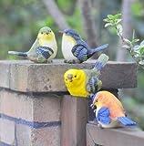 お庭の飾り 小鳥セット