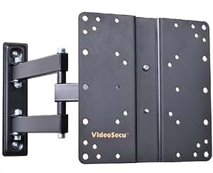 """VideoSecu ML510B Articulating Tilt Swivel TV Wall Mount for 17 - 37"""" LCD/LED TV, Black B65"""