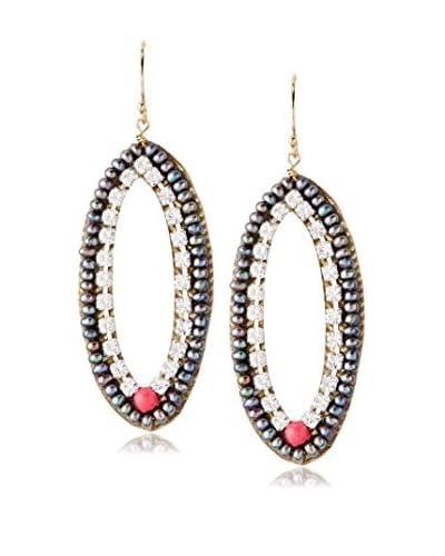 Eva Hanusova Fuchsie Earrings