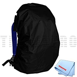 Water Resistant Rain Cover for Backpacks & Tronixpro Microfiber Cloth