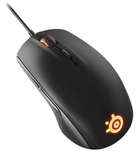 PC: SteelSeries Rival 100 Optical Gaming Mouse, Nero