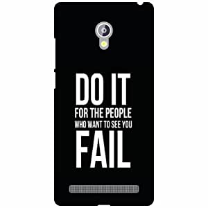 Printland Do It Phone Cover For Asus Zenfone 6 A601CG