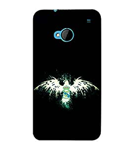 printtech Eagle Bird Cool Back Case Cover for HTC One M7::HTC M7