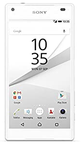 Sony Xperia Z5 Compact Smartphone (4,6 Zoll (11,7 cm) Touch-Display, 32 GB interner Speicher, Android 5.1) weiß