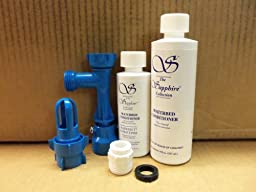 Waterbed Fill and Drain Kit with Two and One Half Year Supply of Waterbed Conditioner