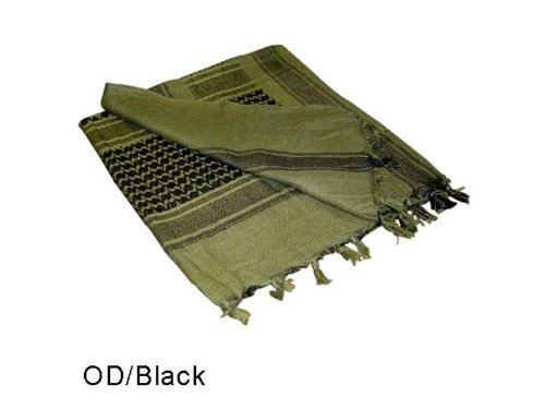 OD Green and Black Shemagh
