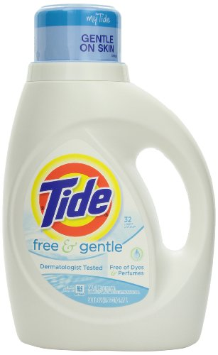 Tide Free And Gentle Liquid Laundry Detergent 2 X 50 Fl Oz