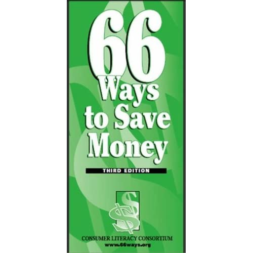 image for 66 Ways To Save Money [Kindle Edition]
