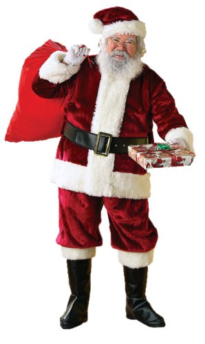 Rubie's Costume Men's Crimson Regency Santa Suit