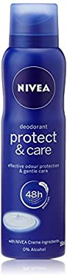 Nivea Protect and Care Deodorant, 150ml at Amazon at Rs.159 discount deal