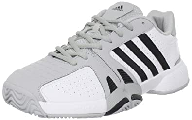adidas Men's Bercuda 2 Tennis Shoe,White/Black/Light Onix,6.5 D US