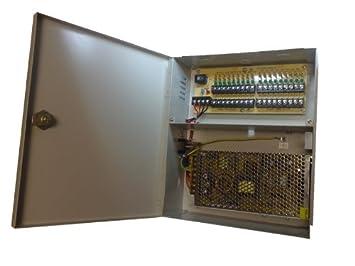 9 Port 10 Amp 10a 12v Videoüberwachung CCTV PSU Strom us257