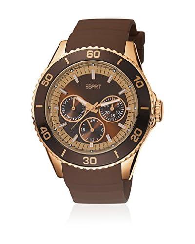 Esprit Reloj de cuarzo Woman Marrón 43 mm